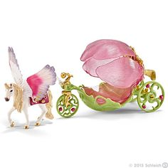 Schleich, Festive Elf Carriage