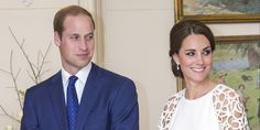 Prince William Can't Keep His Eyes Off Kate Middleton In White