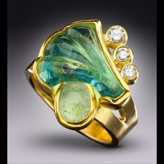 """""""Breaking Wave"""" Ring by Don McCoy"""
