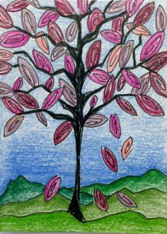 fallen leaves | artist trading card by Sia | artbysia.com