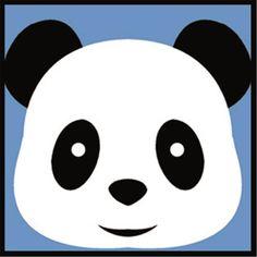 Kit canevas enfant Panda 1435-161 Margot - Univers Broderie