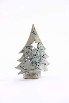 Christmas Tree Tea Light Candle Holders - Sarah McKenna Ceramics