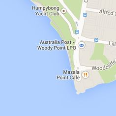 Humpybong Yacht club, Hornibrook Esplanade, Woody Point Yacht Club, Woody, Brisbane, Sailing, Australia, Map, Funny, Candle, Location Map