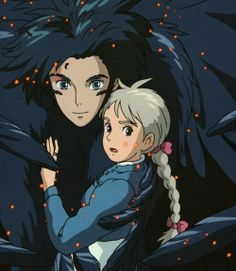 An unsual sweet love story -Howl's Moving Castle