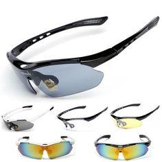 Outdoor UV400 Riding Brand Cycling Sunglasses Men Women 2017 Mtb Sport Bike Bicycle Cycling Eyewear Glasses Goggles Set