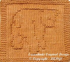 Knitting Cloth Pattern  CUTE CUB  Instant Download  by ezcareknits, $3.00