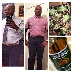 Testimonials ~ Total Life Changes Product Results: Frank's One Month Progress on Iaso Resolution Drops