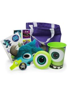 Monsters Ultimate Favor Kit - Party Supplies & Favors from Birthday in a Box