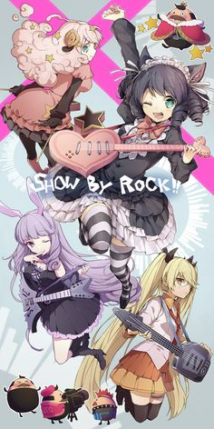 「SHOW BY ROCK !! 」/「だぶ竜」のイラスト [pixiv] (( saw this on an app called Line Play.. Check it out if you haven't already *COUGH* SPONSER *COUGH* ))