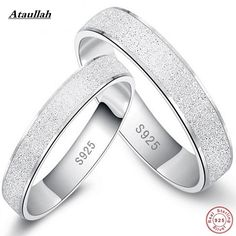 Hot 925 Sterling Silver Scrub Rings For Women And Men New Fashion Trendy Jewelry Accessories Ring 925 Silver RWD704