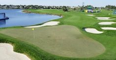 18th hole PGA-National,West Palm Beach, Florida