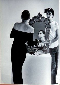 1987 - Tina Chow ( model, muse, socialite...) by Herb Ritts