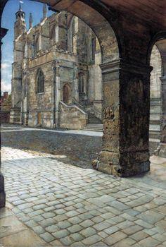 Anna Alma-Tadema 1865 - 1943 Eton College Chapel, ca. 1886