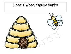Students will sort bees into their proper hive using word families that present the long i silent e pattern....