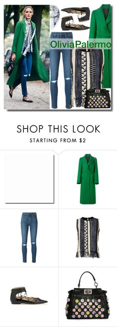 """""""Untitled #969"""" by samha ❤ liked on Polyvore featuring Jil Sander, Paige Denim, Sea, New York, Jimmy Choo, Fendi and McQ by Alexander McQueen"""