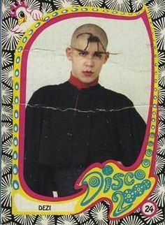 NYC club kids originals Desi Monster - Disco 2000 trading card - Desi Santiago - pinned by RokStarroad.com