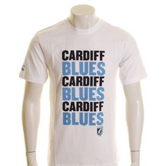 Canterbury Cardiff Blues Logo T-Shirt White, Sky and Navy - £20.00 at ShopRugby.com #rugby #CardiffBlues