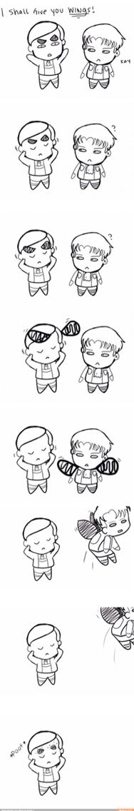 I shall give you wings!!! << I didn't know Erwin could do that..