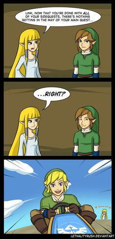 Link is So Happy in His Kart #LegendofZelda #MarioKart