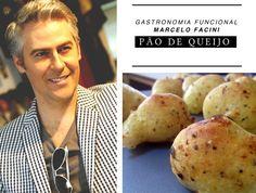 Receita de Pão de queijo sem glúten e sem lactose do Chef Marcelo Facini.