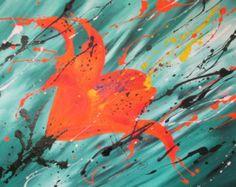 flores pintura abstracta pintura sobre lienzo arte moderno