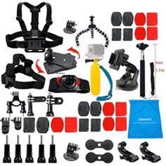 Are you confusing what brand of gopro accessory kit you want to buy? Within 5 minutes to read this article, you definitely love this Lifelimit GoPro kit. Nikon, Gopro Camera, Video Camera, Gopro Accessories, Photo Accessories, Gopro Hero 5, Photo Equipment, Selfie Stick, Starter Kit