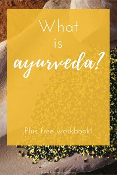 What is ayurveda? Ayurveda is an ancient lifestyle-based system of health and good living. 'Ayurveda'