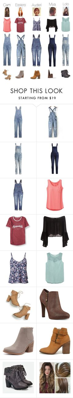 """""""BFF//overalls👣"""" by narwale-13 ❤ liked on Polyvore featuring Current/Elliott, Sans Souci, Cheap Monday, City Chic, prAna, Aéropostale, Miss Selfridge, Nine West, Sol Sana and Steve Madden"""