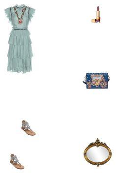 """Grace"" by zoechengrace on Polyvore featuring Gucci, Dolce&Gabbana and Estée Lauder"