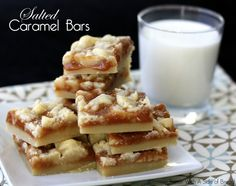 SALTED CARAMEL BARS: Butter With A Side of Bread