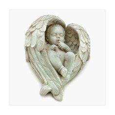 Littlest Resting Angel Figurine Home