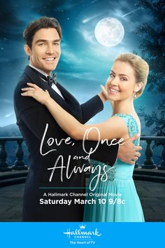 """""""Love, Once and Always"""" - Peter Porte and Amanda Schull work together to save a historical estate. Fall in love with their story on March 20 at 9/8c on Hallmark Channel! #LoveOnceAlways #HallmarkChannel"""