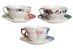 The super cool Hybrid range from bold design company Italian Seletti - my favourites are the tea cups!