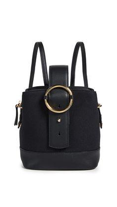 4b386d4a21 PARISA WANG .  parisawang  bags  leather  canvas  backpacks   Mini Backpack