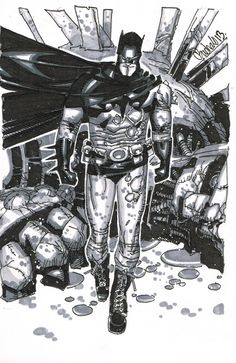 Batman by Chris Bachalo