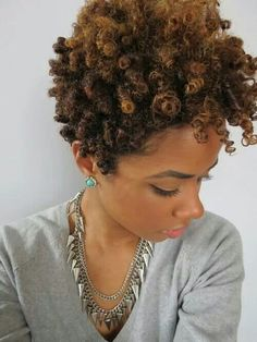 Coily curls high top fro...♥