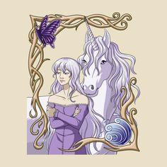 Awesome 'The+Last+Unicorn' design on TeePublic!