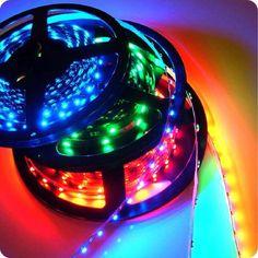 Taśma elastyczna 5060 30led,kolor RGB dane techniczne :  typ taśmy zwykła ilość led (1mb) 30 napięcie 12 volt kolor światła RGB moc (1mb ) 7,2 W/m jasność (1mb ) 30 x 1500 mcd/m opakowanie 5mb gwarancja 1 rok $26