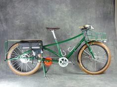 Cargo Bikes - Xtracycle, Bakfiets, Big Dummy, etc. Electric Cargo Bike, Velo Cargo, Powered Bicycle, Bug Out Vehicle, Touring Bike, Bike Accessories, Cycling Bikes, Tricycle, Cool Bikes