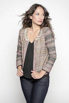 Zareena: Hand-Embroidered Jacket    Fair Trade Hand-Embroidered Jacket