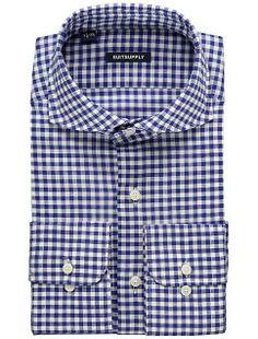 67083a7c8c Blue Gingham Shirt  79 USD suit supply
