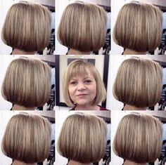 Image result for short bob hairstyles for women over 50