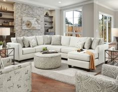 "SM8188 3 pc Rosdorf park pocklington ivory chenille fabric sectional sofa with chaise. Sectional features deep seating, loose back pillows and block legs. Sectional measures 96"" x 140"" x 37"" D x 66"" L chaise x 37"" H. 22"" seat depth, 20 1/2"" seat height. Some assembly may be required."