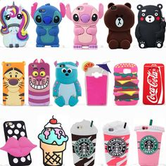 3D Animal Cartoon Soft Silicone Case Covers Back Skin For Samsung Galaxy Phones | Cell Phones & Accessories, Cell Phone Accessories, Cases, Covers & Skins | eBay!