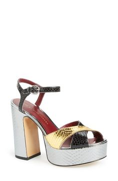 MARC BY MARC JACOBS 'Jerry' Platform Sandal (Women) available at #Nordstrom