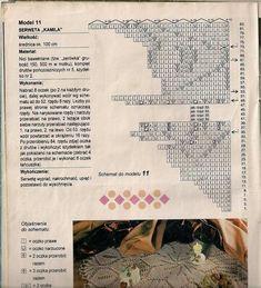 """Photo from album """"Igla i Nitka on Yandex. Doily Patterns, Knit Patterns, Crochet Books, Knit Crochet, Lace Doilies, Crochet Doilies, Knitting Magazine, Lace Knitting, Views Album"""