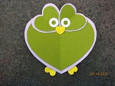 Cute heart owl.