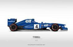 Today's Tyrrell / 007