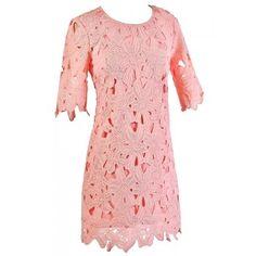 Lily Boutique Pink Lily Boutique Lace Dress, Pink Lily Boutique Dress, Cute Summer Dress, Cute Pink Dress Lily Boutique