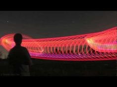 Light painting with RC Helicopter